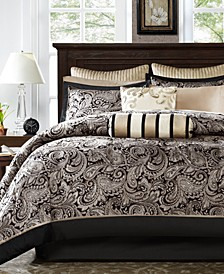 Adeline 12-Pc. Full Comforter Set