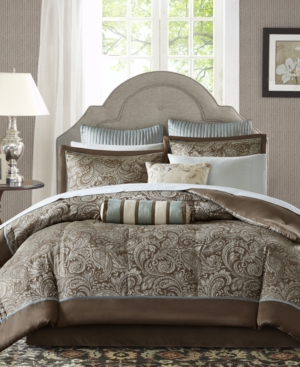 Madison Park Aubrey 12-Pc. King Comforter Set Bedding