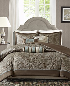 Aubrey 6-Pc. Full/Queen Duvet Cover Set