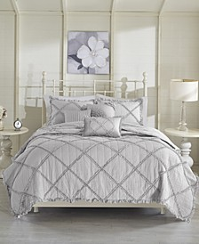 Rosie 6-Pc. Full/Queen Coverlet Set