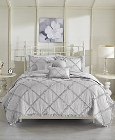 Madison Park Rosie 6-Pc. Full/Queen Coverlet Set