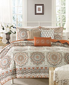 Tangiers 6-Pc. King/California King Coverlet Set
