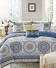 Tangiers 6-Pc. King/California King Duvet Set
