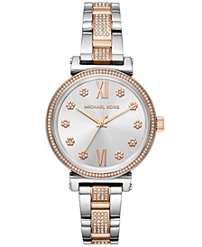 Women's Sofie Two-Tone Stainless Steel Bracelet Watch 36mm