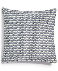 "Hotel Collection Speckle 18"" Square Decorative Pillow, Created for Macy's"