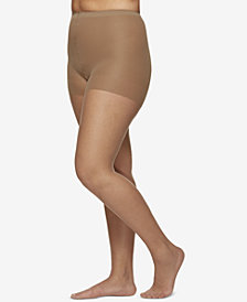 Berkshire Women's  Plus Size Ultra Sheer Control Top Hosiery, 4411