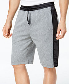"ID Ideology Men's Mixed-Media 11"" Sweat Shorts"