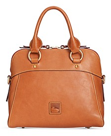 Cameron Medium Florentine Leather Satchel
