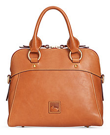 Dooney & Bourke Cameron Medium Smooth Leather Satchel