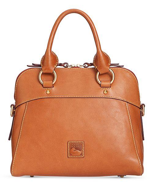 Dooney   Bourke Cameron Medium Florentine Leather Satchel   Reviews ... 68a2d983abb2c