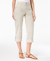 9c753c1047e3 Style & Co Convertible Cargo Pants, Created for Macy's