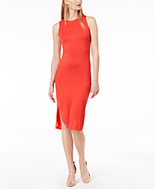 Bar III Sleeveless Pullover Sheath Dress, Created for Macy's