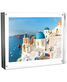"2-Pc. Acrylic 8"" x 10"" Double-Sided Magnetic Block Frame Photo/Art Display Set"