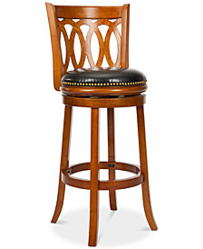 Varnell Swivel Bar Stool, Quick Ship