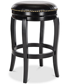Kaleda Swivel Bar Stool, Quick Ship