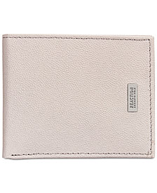 Kenneth Cole Reaction Men's Hinton Leather Bi-Fold Wallet