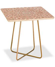 Deny Designs Elisabeth Fredriksson Mandala Square Side Table