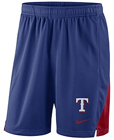 Men's Texas Rangers Dry Franchise Shorts