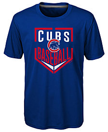 Outerstuff Chicago Cubs Run Scored T-Shirt, Little Boys (4-7)
