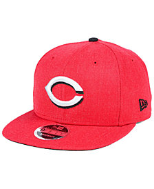 New Era Cincinnati Reds Heather Hype 9FIFTY Snapback Cap
