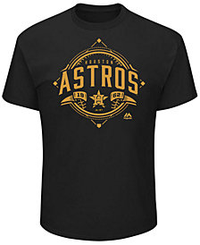 Majestic Men's Houston Astros World Series Gold Gilded T-shirt