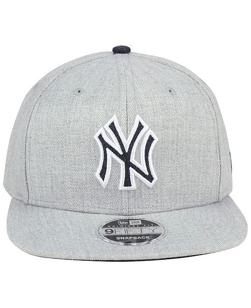 half off e81e2 abd14 ... coupon code new era new york yankees heather hype 9fifty snapback cap  sports fan shop by
