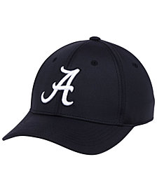 Top of the World Alabama Crimson Tide Phenom Flex Black White Cap