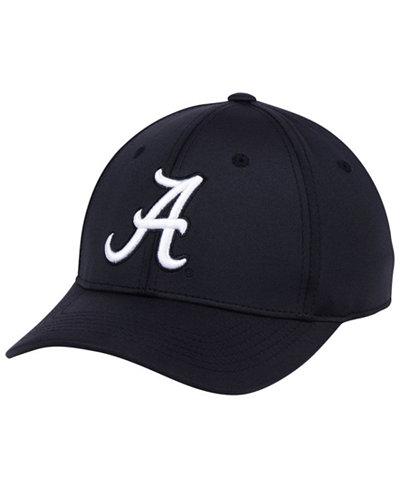Top of the World Alabama Crimson Tide Phenom Flex Black White Cap