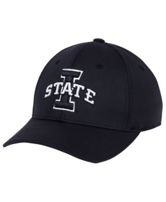 sale retailer 0c5c3 d29b8 Top of the World Iowa State Cyclones Phenom Flex Black White Cap
