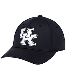 Top of the World Kentucky Wildcats Phenom Flex Black White Cap