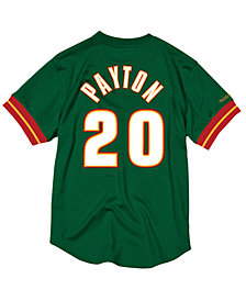 Mitchell & Ness Men's Gary Payton Seattle SuperSonics Name and Number Mesh Crewneck Jersey