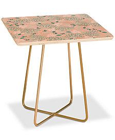 Deny Designs Iveta Abolina Camellia Garden Square Side Table
