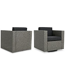 Lexington Outdoor Club Chairs (Set of 2)