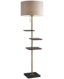 Griffin Shelf Floor Lamp