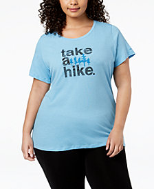 Columbia Plus Size Outdoor Elements Graphic T-Shirt