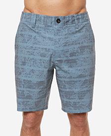 "O'Neill Men's Mischief Stripe-Print Hybrid 19"" Shorts"