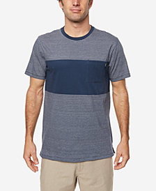O'Neill Men's Bernard Yarn-Dyed Engineered-Stripe T-Shirt