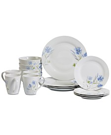 Tabletops Unlimited Wildflower 16-Pc. Dinnerware Set, Service for 4