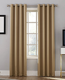 "CLOSEOUT! Sun Zero Oslo 52"" x 84"" Theater Grade 100% Blackout Grommet Curtain Panel"