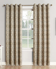 "Sun Zero Neema 52"" x 95"" Theater Grade 100% Blackout Grommet Curtain Panel"
