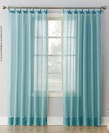 "Lichtenberg No. 918 Sheer Voile 59"" x 95"" Tab Top Curtain Panel"