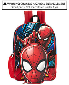 Spider-Man Backpack & Lunch Bag, Little & Big Boys