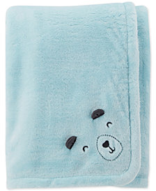 Carter's Baby Boys Plush Blanket