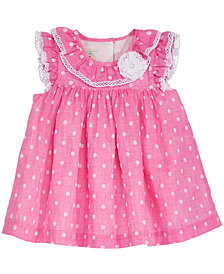 Marmellata Baby Girls Dot-Print Dress