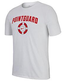 Nike Men's Dry Graphic Pointguard Basketball T-Shirt