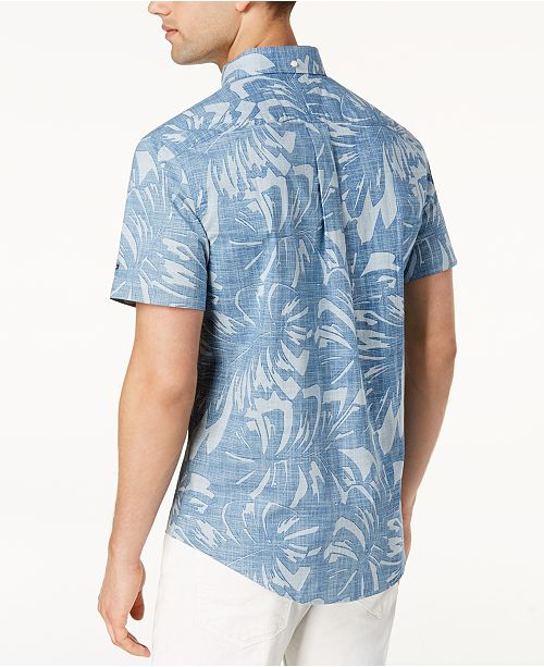 a3fe75d8 Tommy Hilfiger. Men's Big & Tall Weathered Print Classic Fit Shirt, Created  for Macy's. Be the first to Write a Review. main image ...