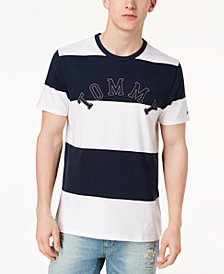 Tommy Hilfiger Men's Western Embroidered Logo T-Shirt, Created for Macy's