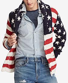 Polo Ralph Lauren Men\u0027s Flag Cardigan