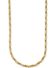 "Charter Club Gold-Tone Imitation Pearl and Rope Chain Twist Statement Necklace, 36"" + 2"" extender, Created for Macy's"