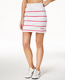 Fila Lili Striped Mini Skirt